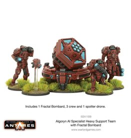 Warlord Games Specialist Heavy Support Team with Fractal Bombard