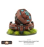 Warlord Games Algoryn Specialist Heavy Support Team with Fractal Bombard