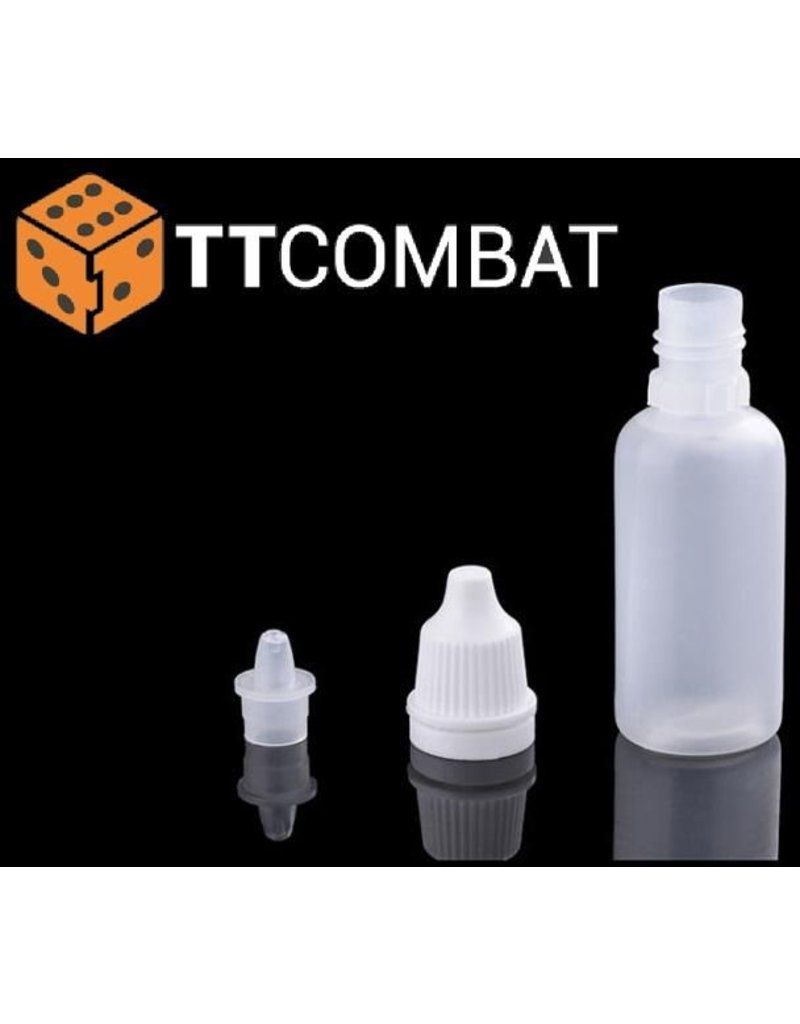 TT COMBAT Empty Dropper Bottle Pack (x10)