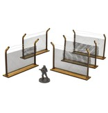 Mantic Games The Walking Dead: The Prison Scenery Set