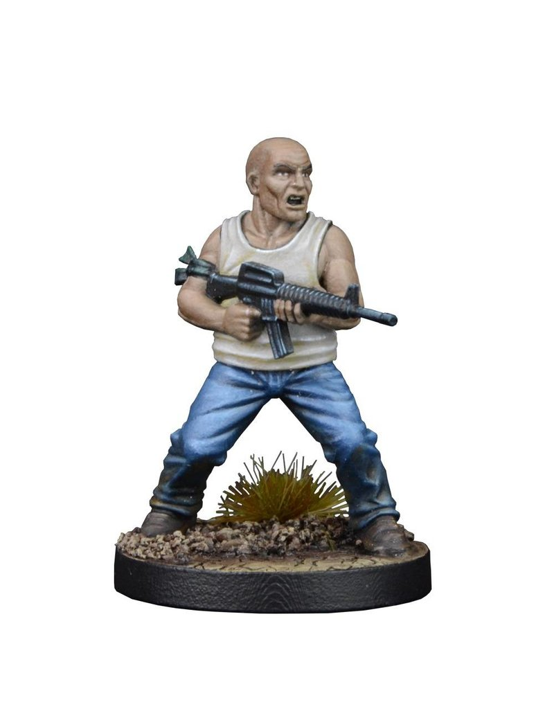 Mantic Games The Walking Dead: Glenn, Prison Guard Booster