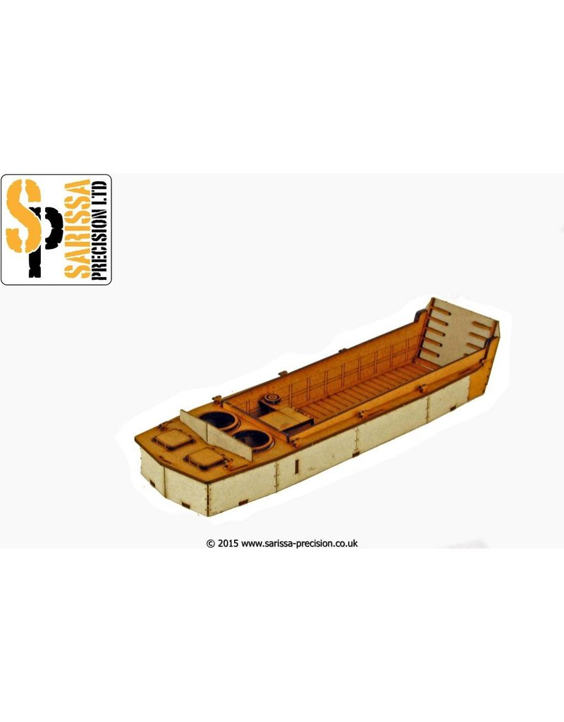 Warlord Games US Landing Craft Vehicle Personnel (Higgins Boat) MDF Kit