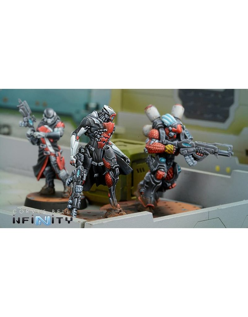 Corvus Belli Nomads Tunguska Jurisdictional Command (Nomads Sectorial Starter Pack)