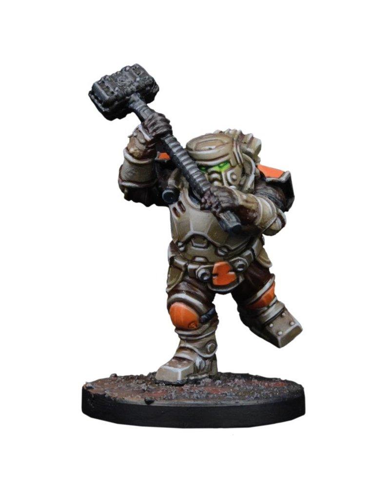 Mantic Games Warpath / Deadzone: Forge Father Thorgarim Team