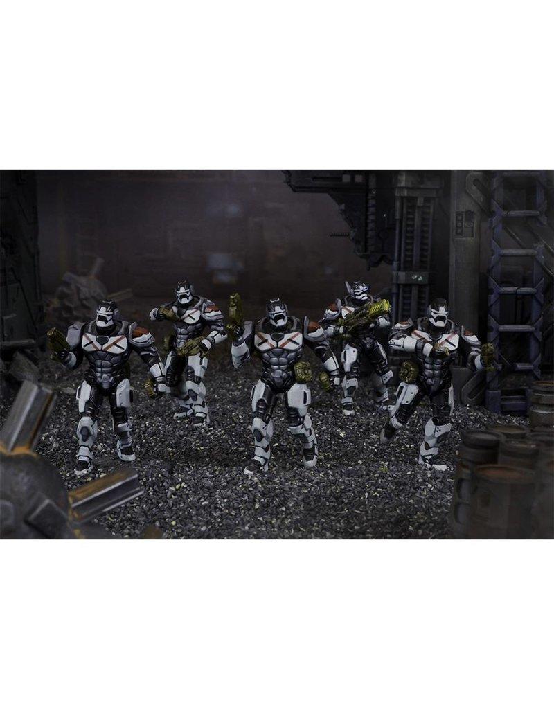 Mantic Games Warpath / Deadzone: Enforcer Breach & Eradicate Team