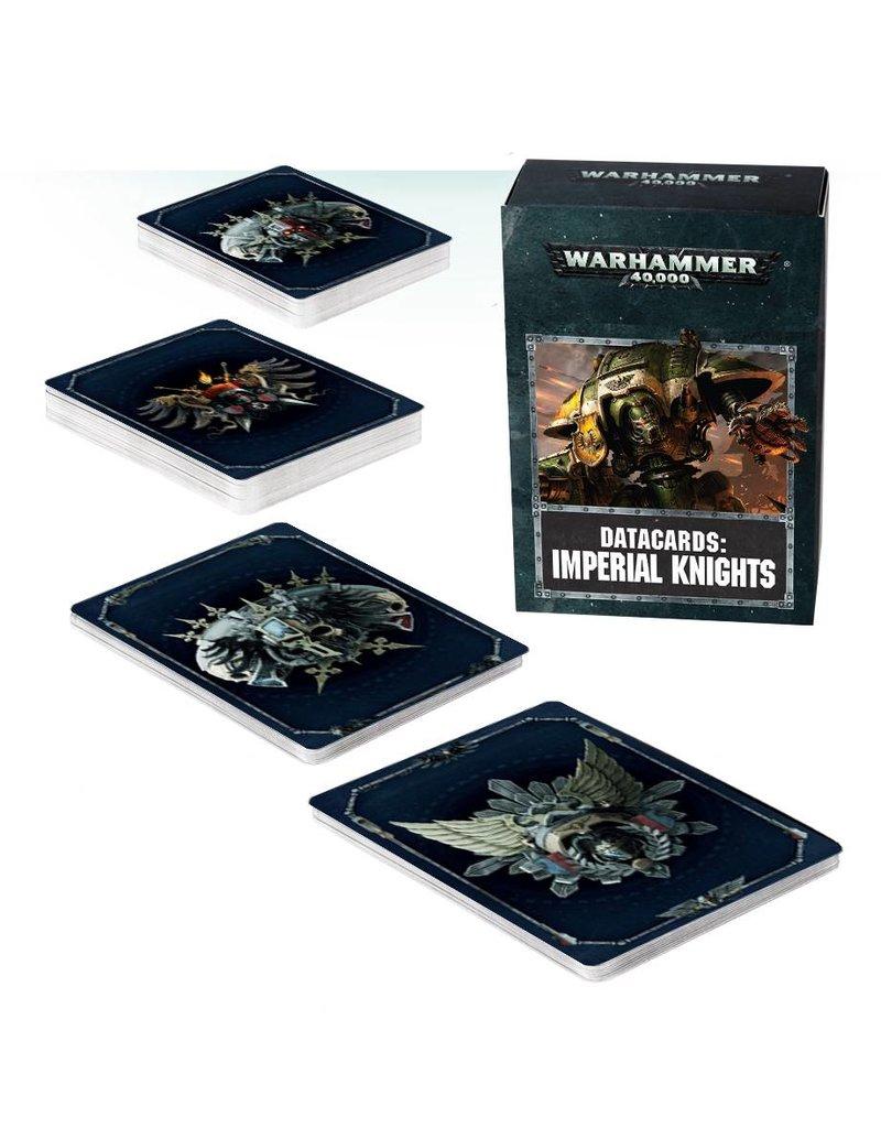 Games Workshop Datacards: Imperial Knights (8th Edition) (EN)