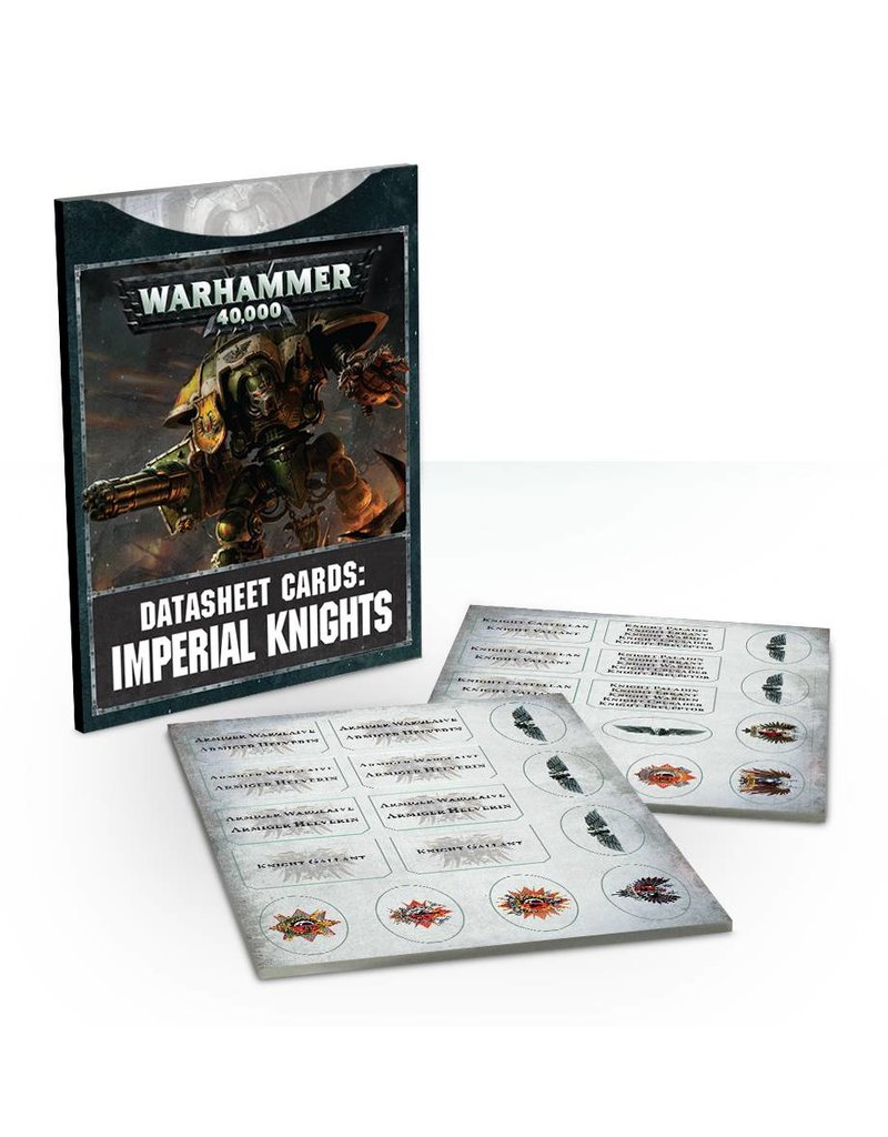 Games Workshop Datasheets: Imperial Knights (8th Edition) (EN)