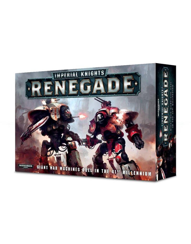 Games Workshop Imperial Knights: Renegade (EN)