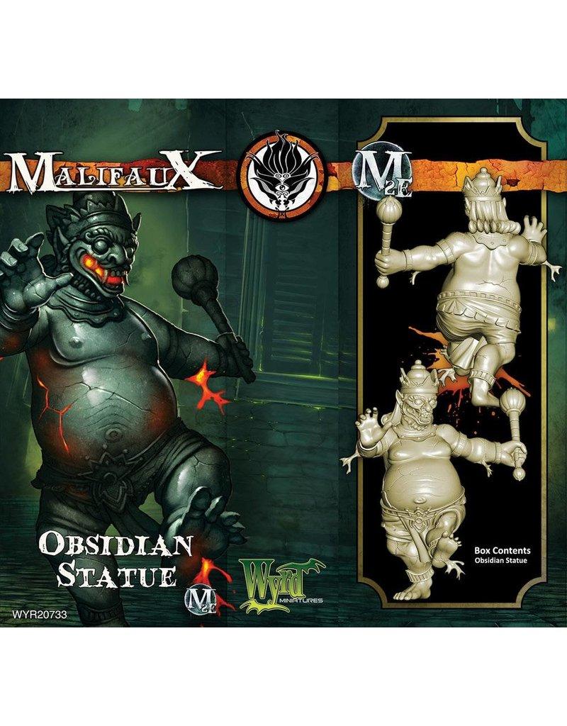 Wyrd Ten Thunders Obsidian Statue
