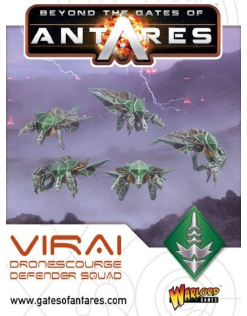 Warlord Games Virai Dronescourge Defender / Assault Squad