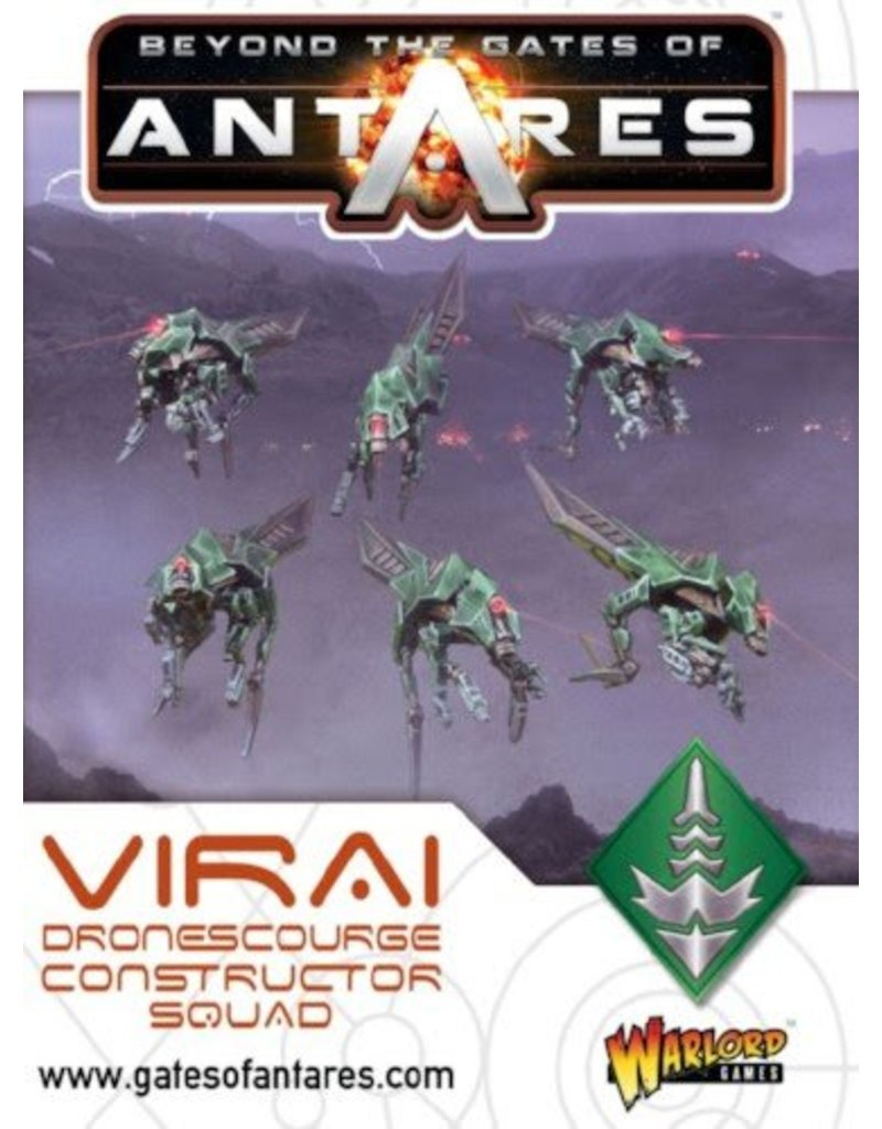 Warlord Games Virai Dronescourge Constructor Squad