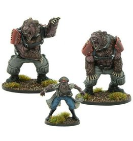 Warlord Games Commissar Gregor Drugov with Ursus guards