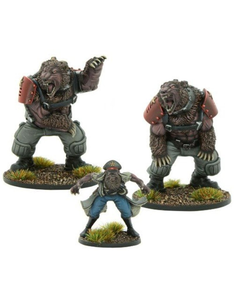 Warlord Games Soviet Commissar Gregor Drugov with Ursus guards