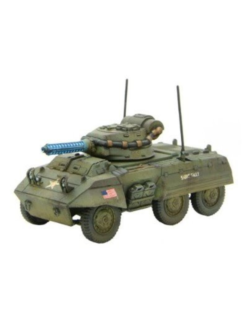 Warlord Games US M8A3 Tesla Scout Armoured Car