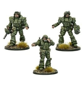 Warlord Games Armoured Officers