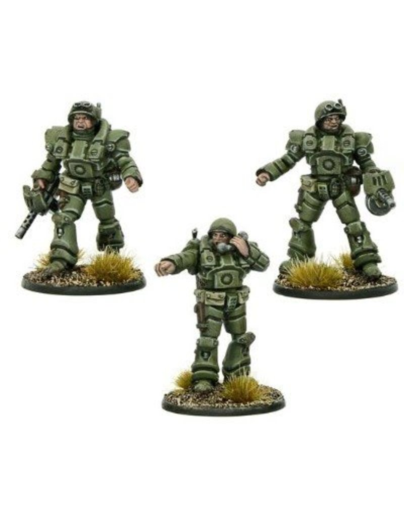 Warlord Games US Armoured Officers