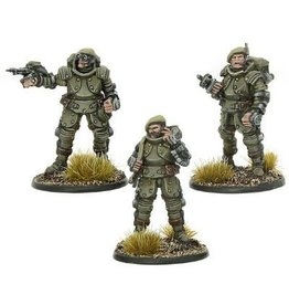 Warlord Games Galahad Armoured Infantry Officers