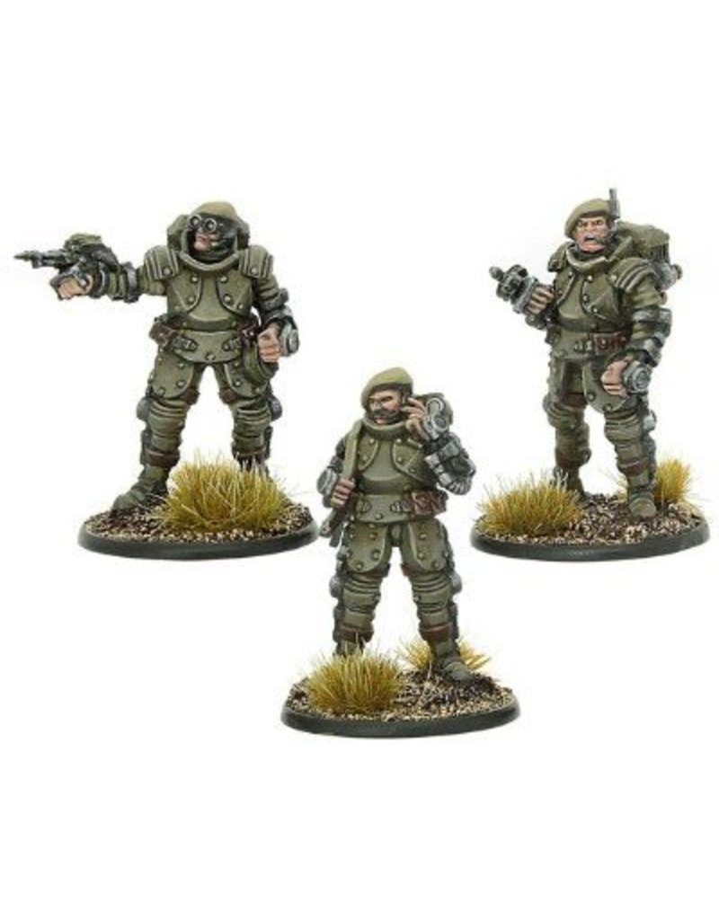 Warlord Games British Galahad Armoured Infantry Officers