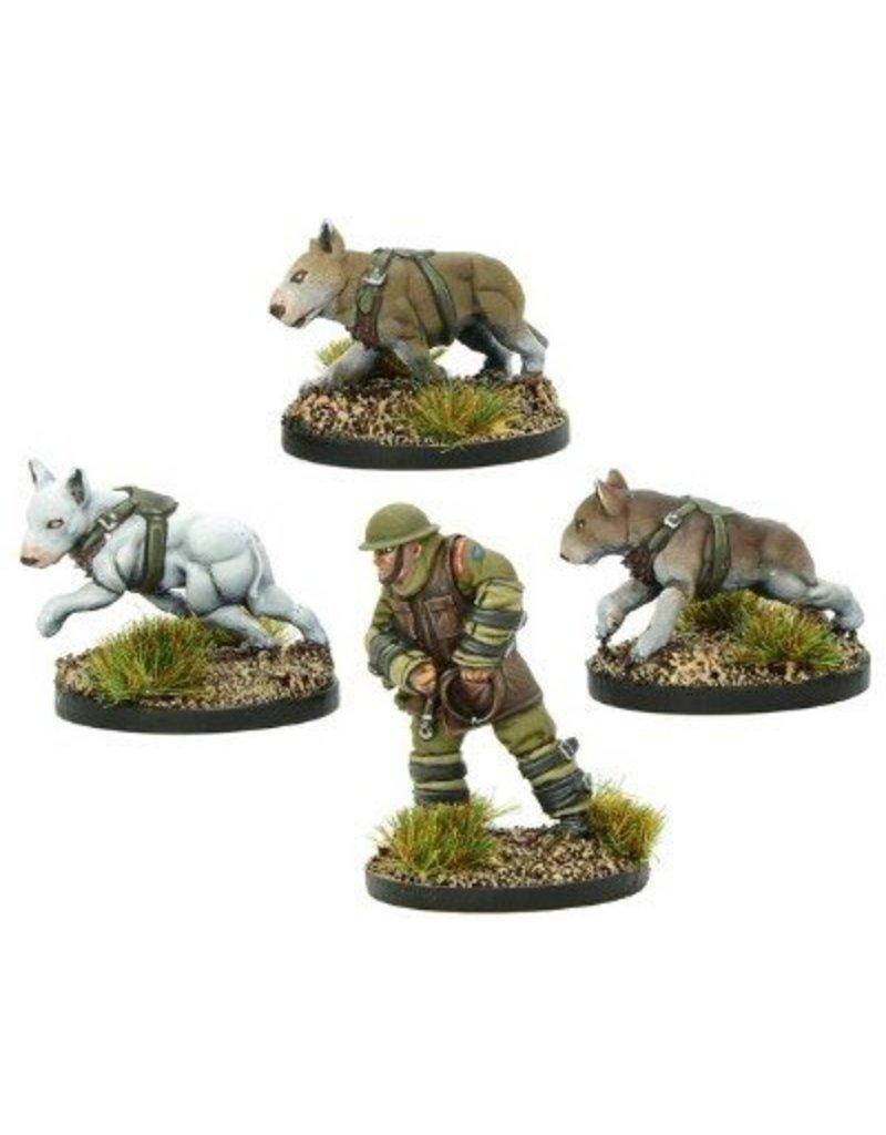 Warlord Games British War Dog Squad