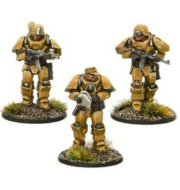 Warlord Games Heavy Armour Platoon Officers