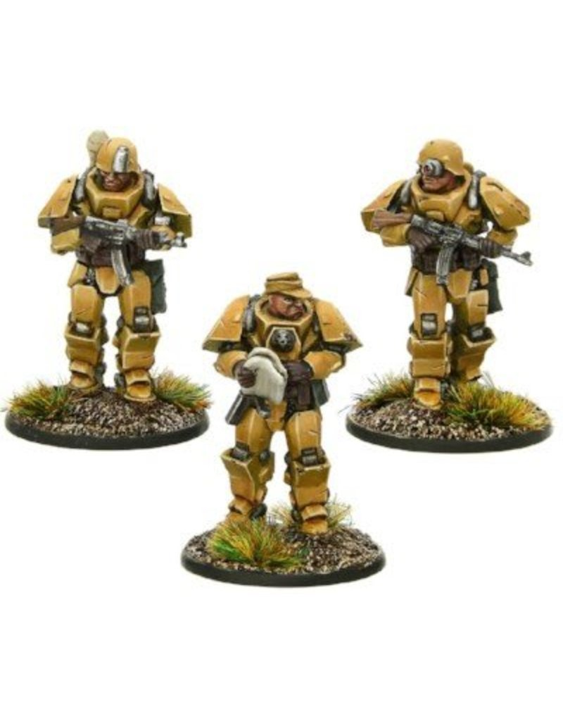Warlord Games German Heavy Armour Platoon Officers