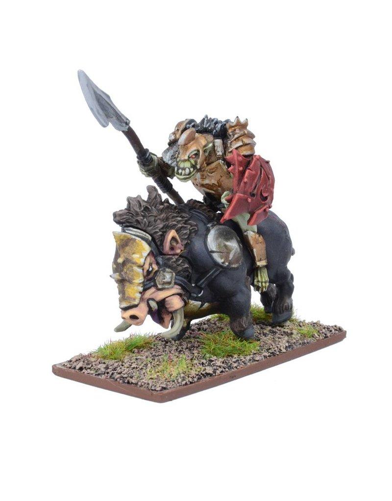 Mantic Games Abyssal Dwarfs: Slave Orc Gore Rider Regiment