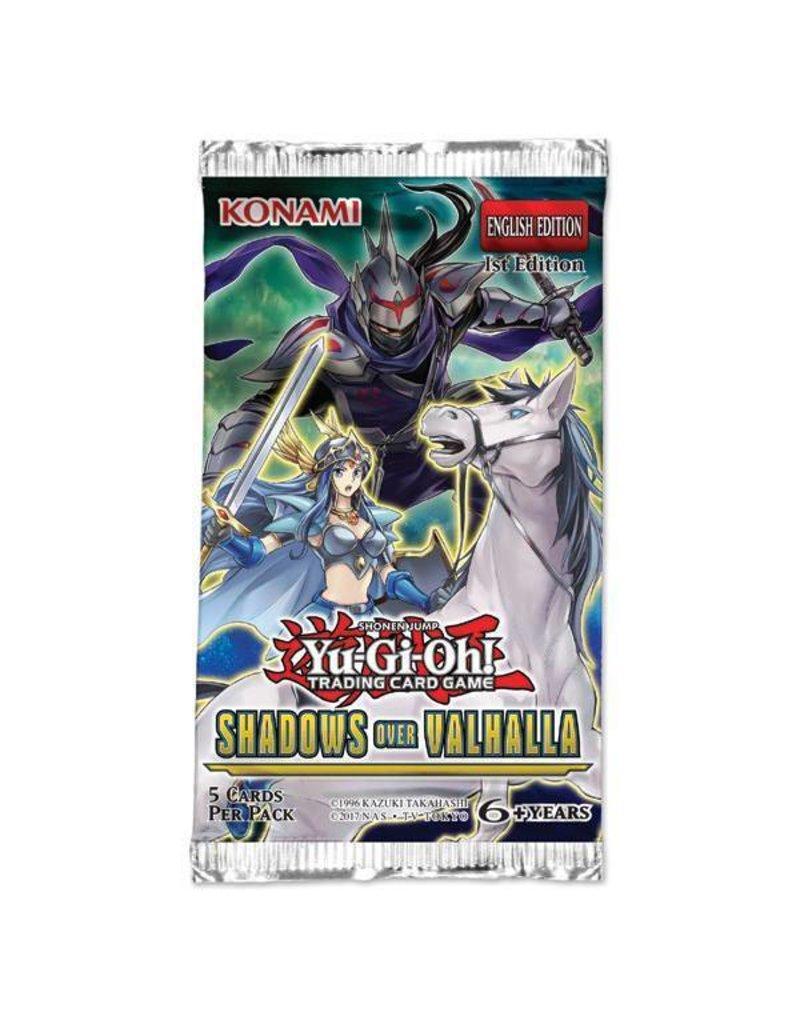 Konami Yugioh TCG Shadows in Valhalla Booster Pack
