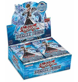 Konami Legendary Duelists: White Dragon Abyss Booster Display