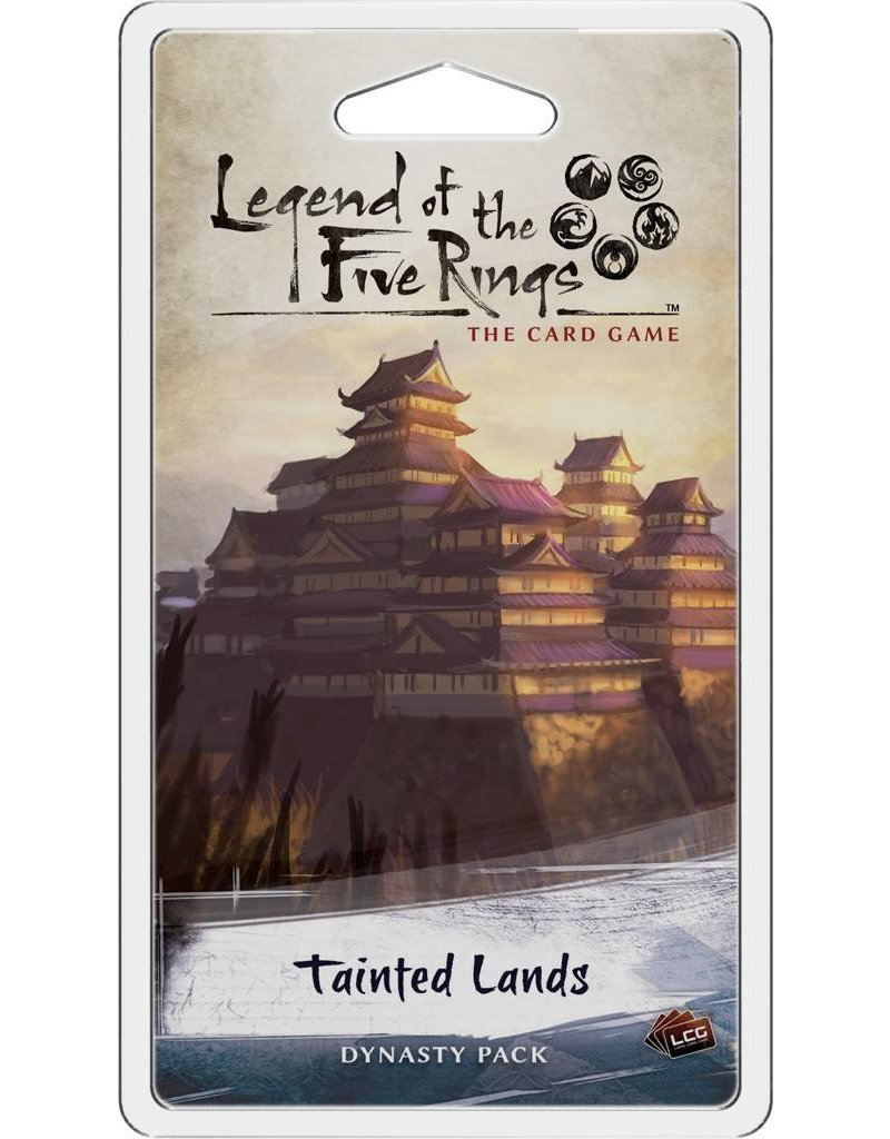 Fantasy Flight Games Legend Of The Five Rings: Tainted Lands Dynasty Expansion Pack