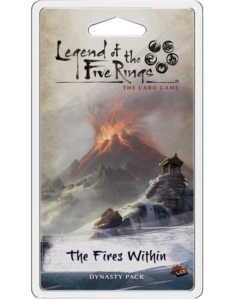 Fantasy Flight Games Legend Of The Five Rings: The Fires Within Expansion Pack