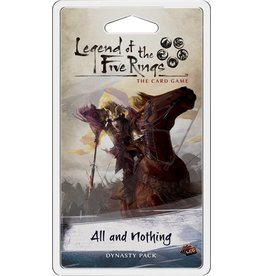 Fantasy Flight Games All and Nothing Expansion Pack