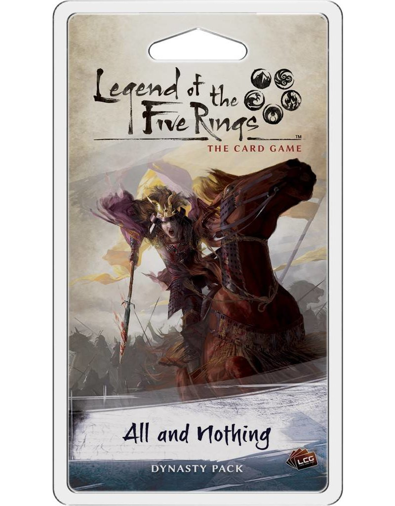 Fantasy Flight Games Legend Of The Five Rings: All and Nothing Expansion Pack