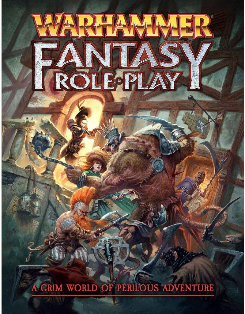 Cubicle 7 Warhammer Fantasy Roleplay Fourth Edition Rulebook