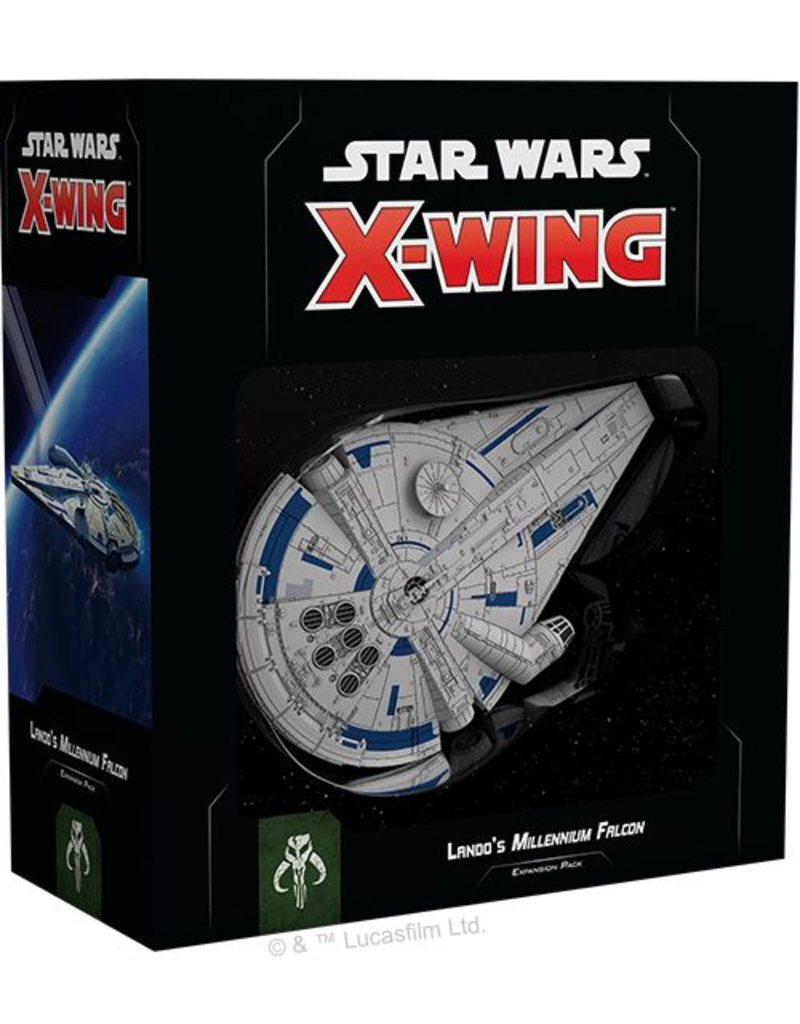 Fantasy Flight Games Star Wars X-Wing: Lando's Millennium Falcon Expansion Pack