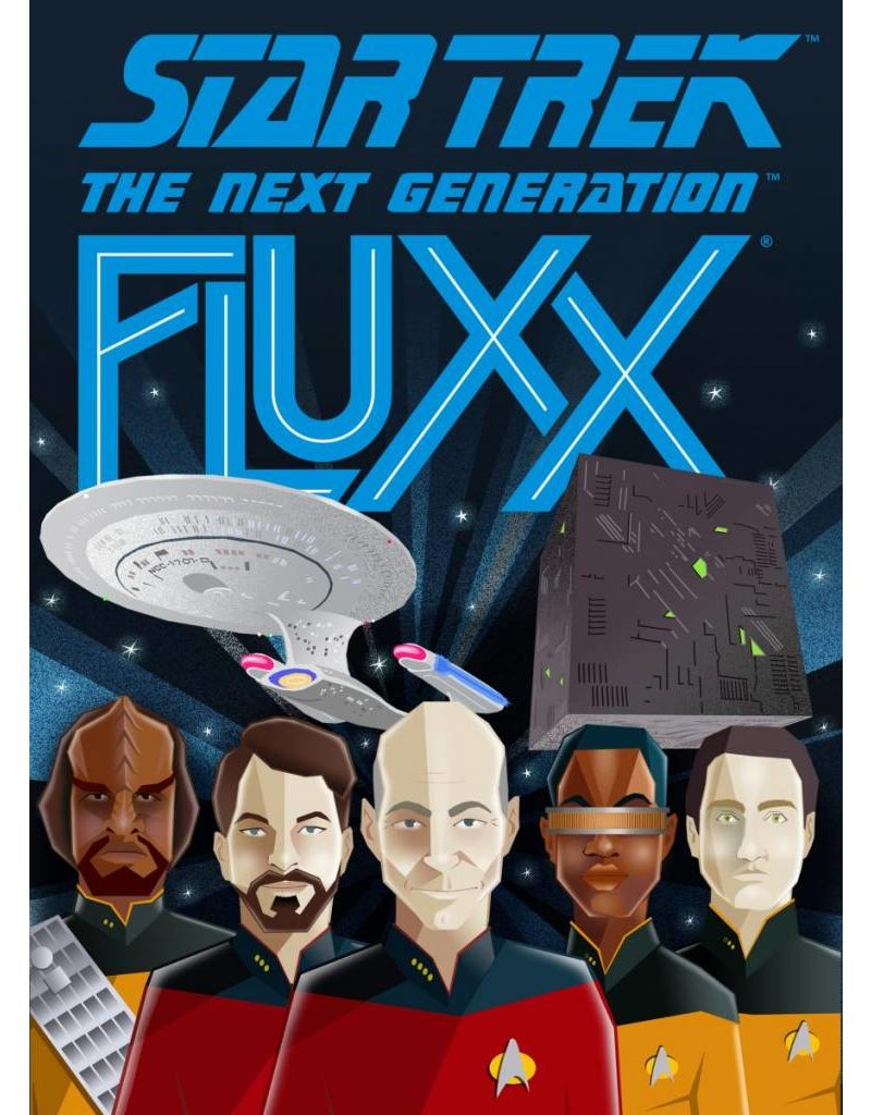 Looney Labs Star Trek The Next Generation Fluxx