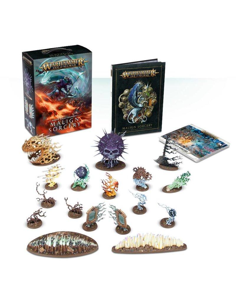 Games Workshop Age Of Sigmar: Malign Sorcery Battle Magic Expansion (EN)