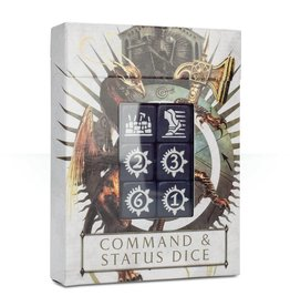 Games Workshop AOS: Command & Status Dice