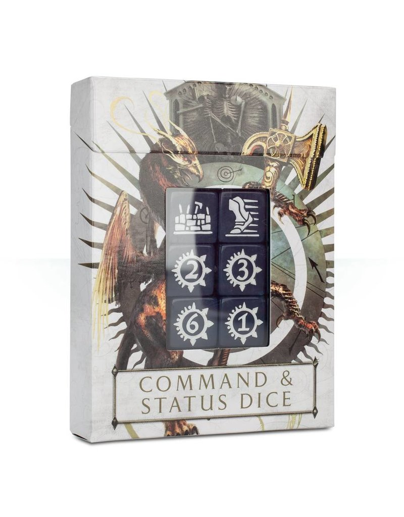 Games Workshop Age Of Sigmar: Command & Status Dice