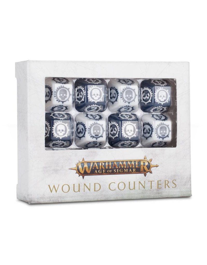 Games Workshop Age Of Sigmar: Wound Counters