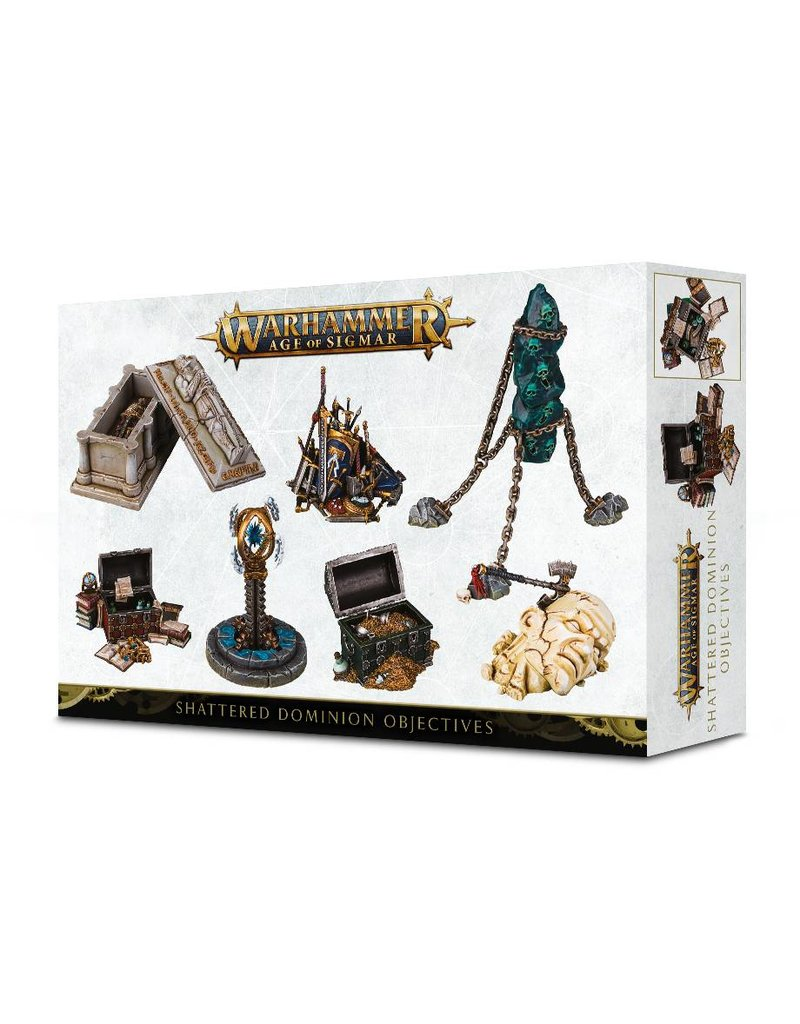 Games Workshop Age Of Sigmar: Objective Markers