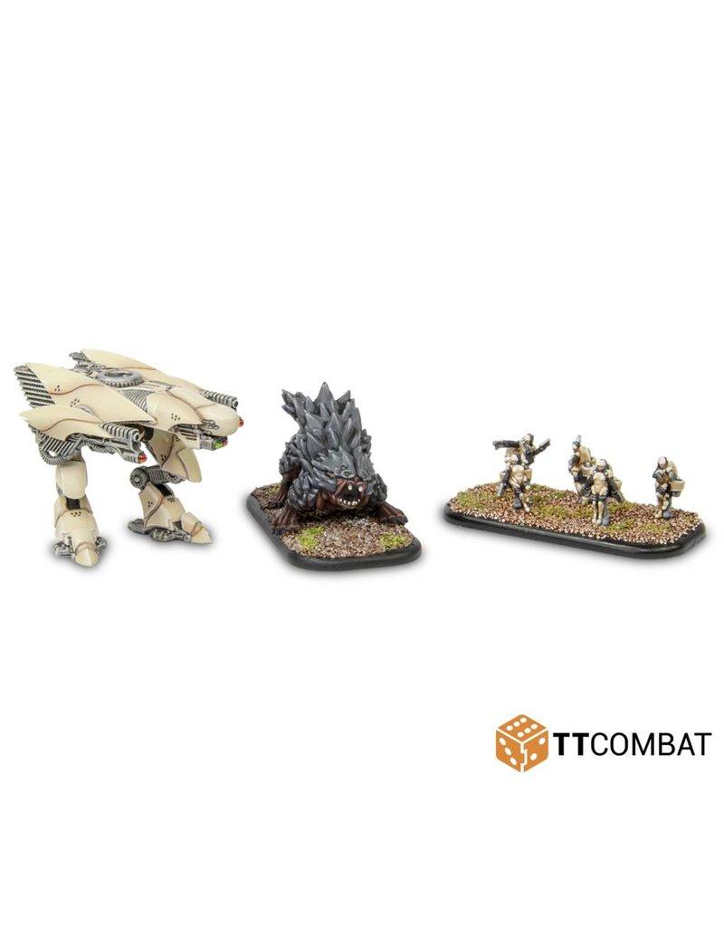 TT COMBAT Dropzone Commander: Maulers Fauna