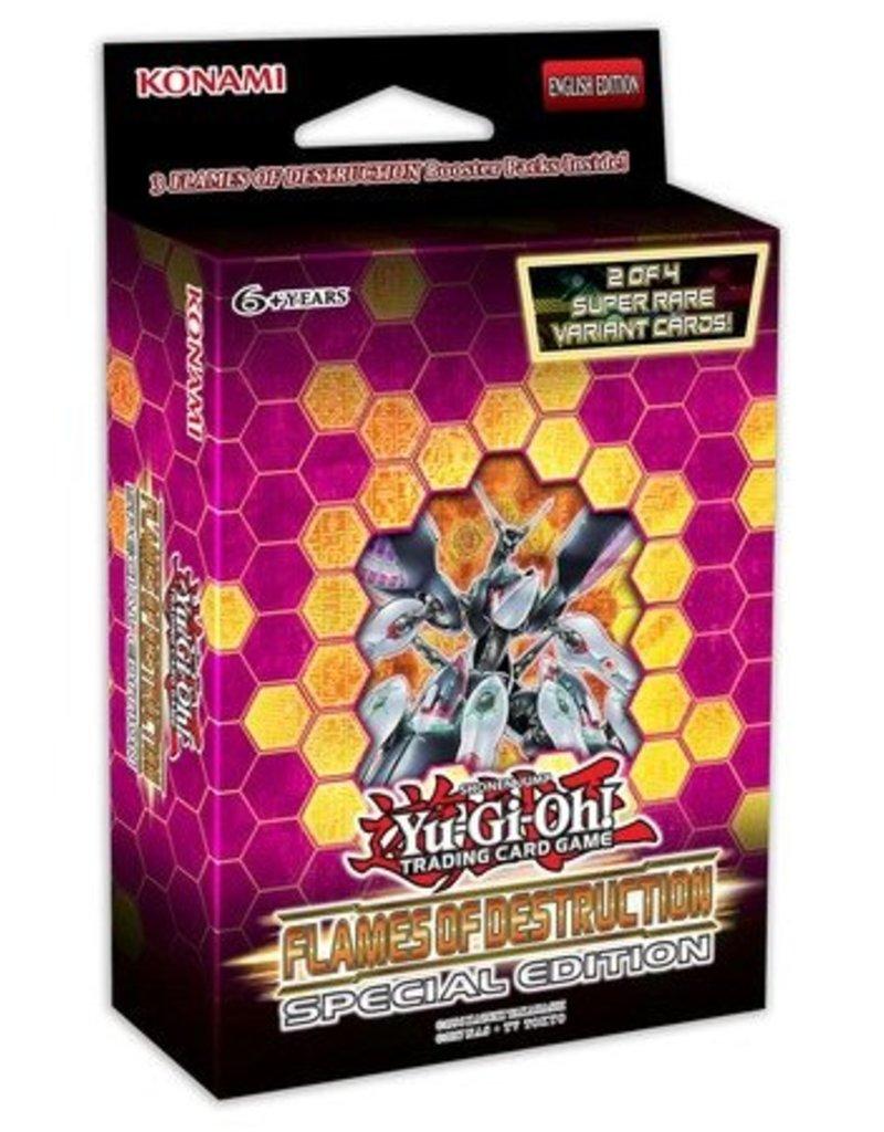 Konami Yu-Gi-Oh! Flames of Destruction Special Edition