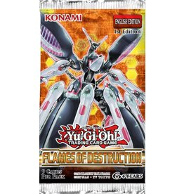 Konami Flames of Destruction 1st Edition Booster