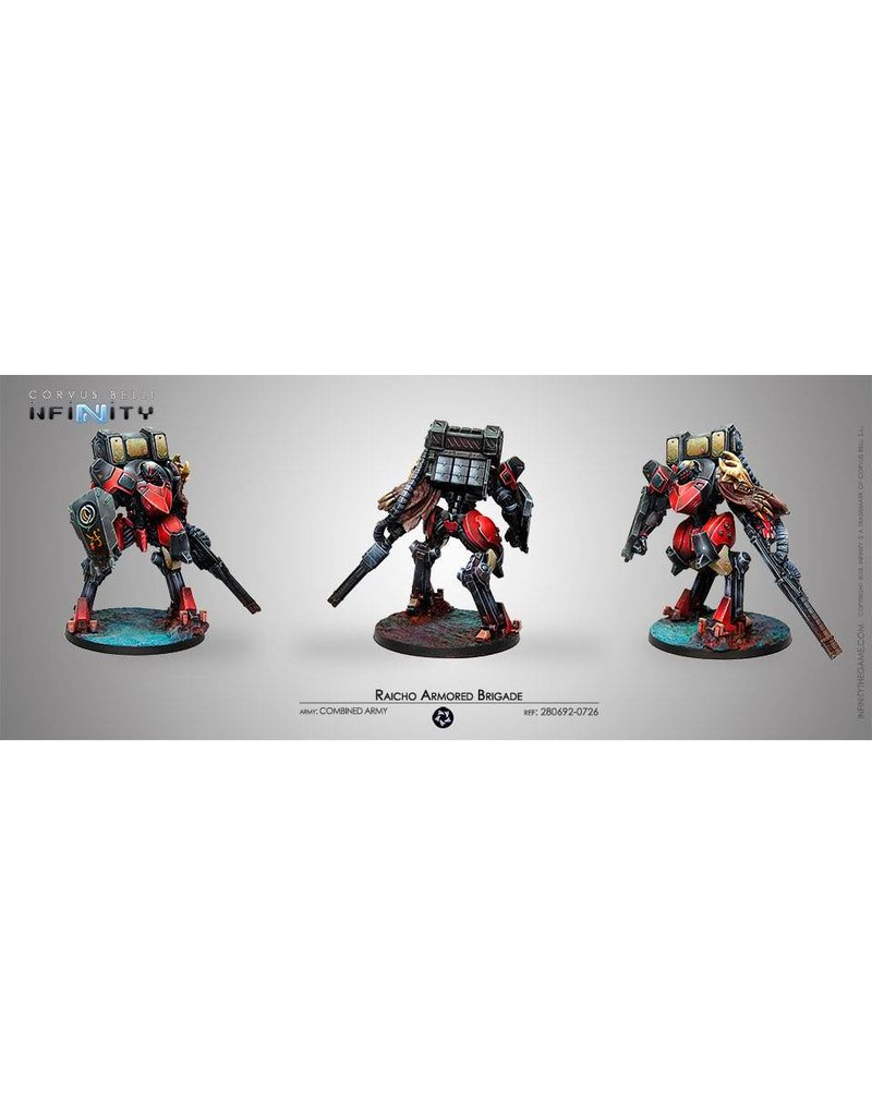 Corvus Belli Combined Army Raicho Armored Brigada