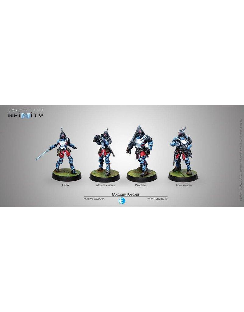 Corvus Belli Panoceania Magister Knights