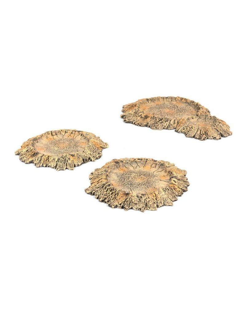 Game Mat Explosion Craters Set