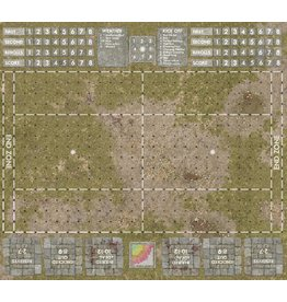Game Mat 3'x3' Grassy Pitch