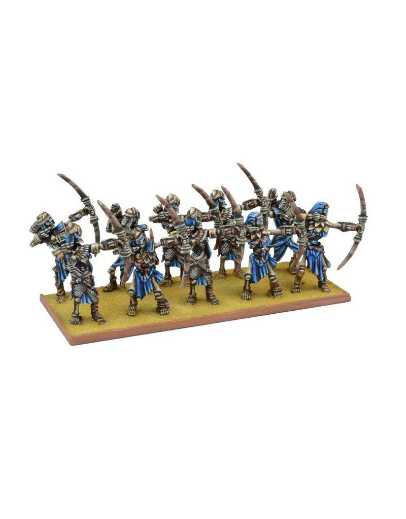 Mantic Games Empire of Dust: Skeleton Archer Regiment