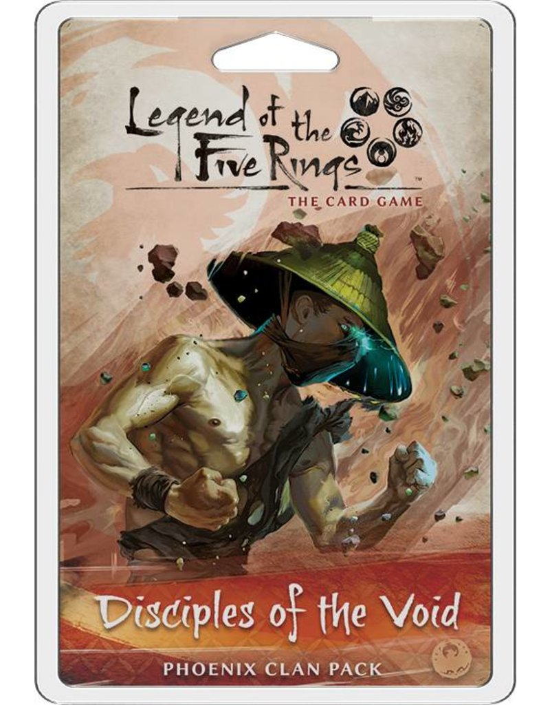 Fantasy Flight Games Legend Of The Five Rings: Disciples Of The Void Expansion Pack