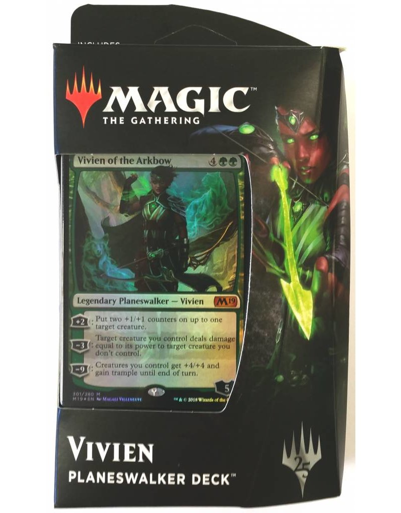 Wizards of the Coast Magic The Gathering: Core 2019 - Vivien, Of The Arkbow Planeswalker Deck